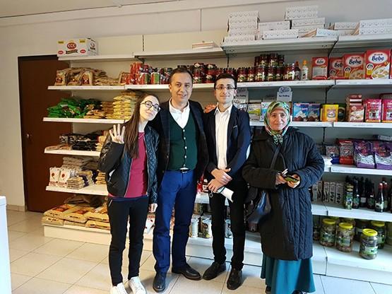 Ceylan, İtalya'da Türklerle buluştu