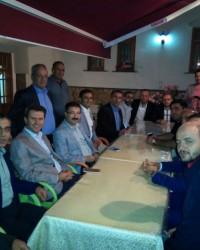 AK Parti Boğazkale'de iftar yaptı