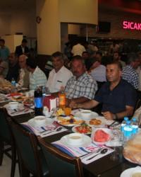 OSMİAD'ın iftarına yoğun katılım