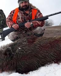 Avcılar sürek avında