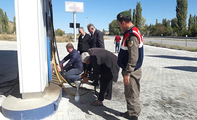9 LPG istasyonuna tutanak
