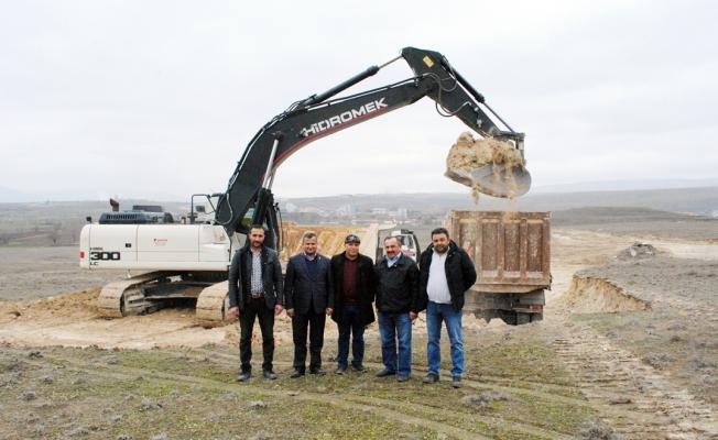 372 işyeri inşaatı başladı