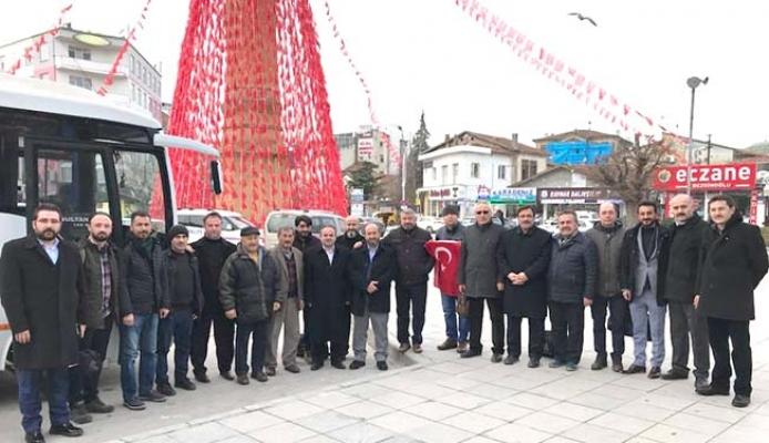 Çorum ekibi Afrin'e gidiyor