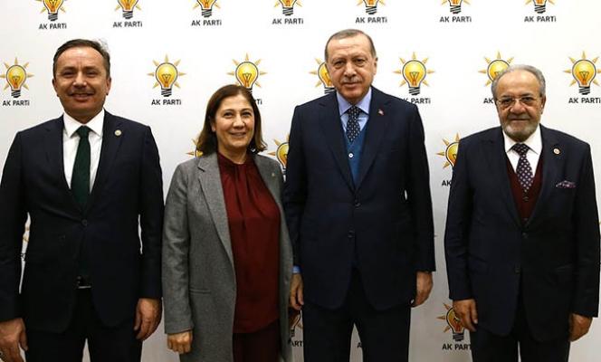 Cumhurbaşkanı Çorum milletvekilleri ile bir araya geldi