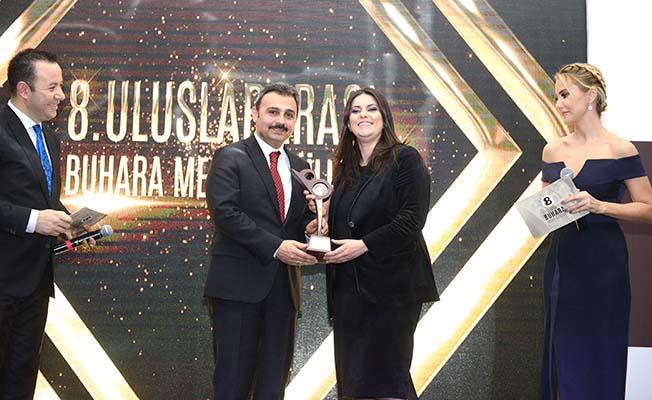 Külcü'ye Yılın Belediye Başkanı Ödülü