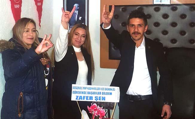 MHP Boğazkale Kadın Kolları Başkanı atandı