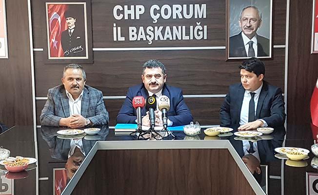 CHP'den sorunlar ve çözümler