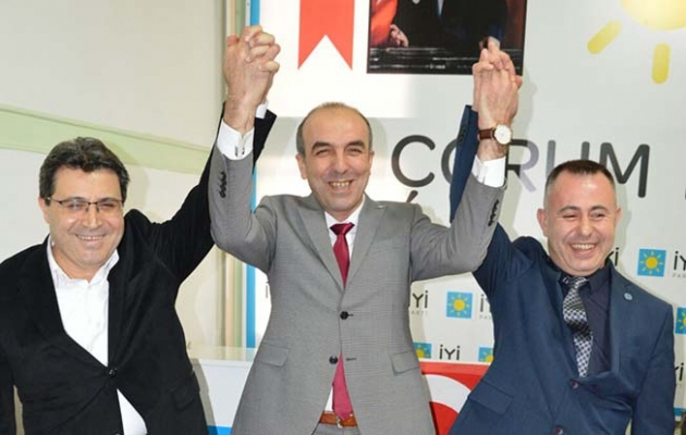 İYİ Parti Merkez İlçe Başkanı değişti