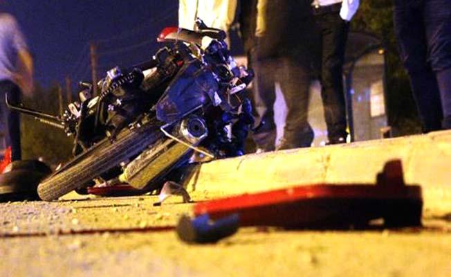 Motosiklet kazaları arttı