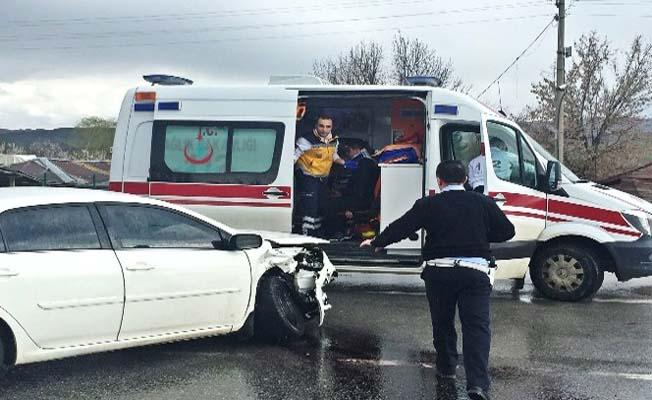 Zincirleme kaza, 3 yaralı