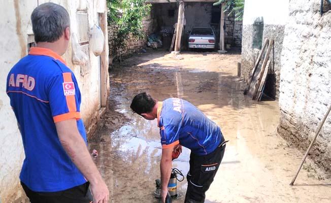 Sungurlu'da su baskını