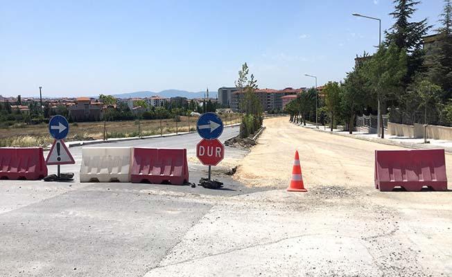 Binevler'e yeni asfalt