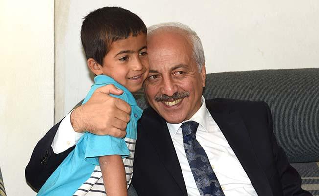 Iraklı aileyi sevindirdi