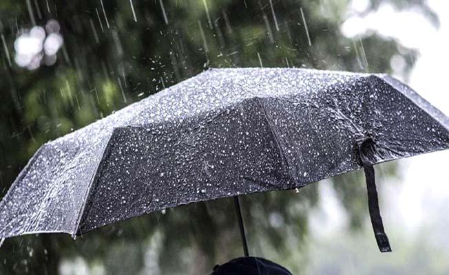 Bölgemizde yağış var