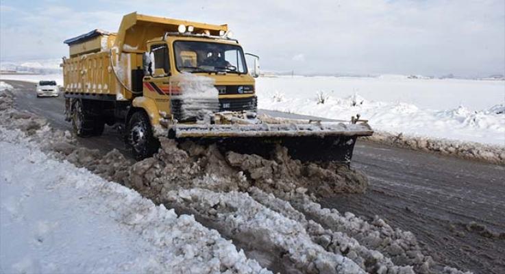 520 köyün yolu kapalı