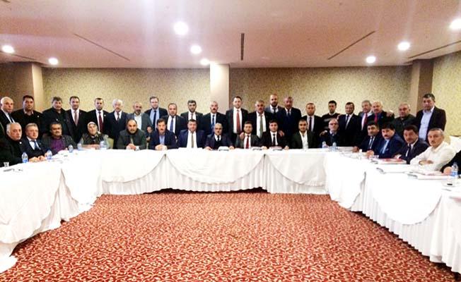 Yozgat'ta toplandılar