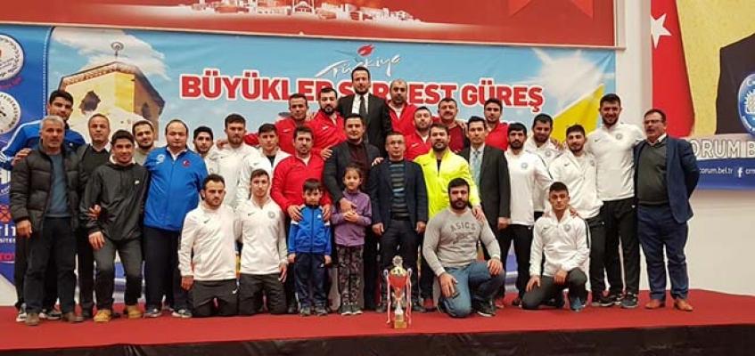Üst üste 9. kez Türkiye Şampiyonu