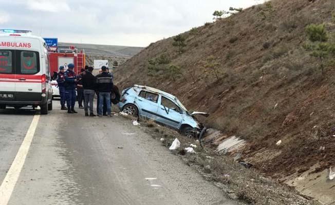 Çorum-Kırıkkale yolunda kaza