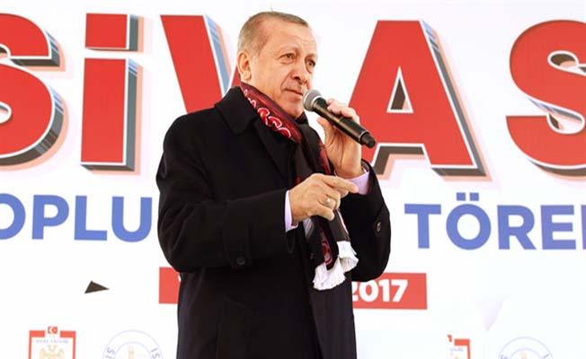 Erdoğan'dan hızlı tren açıklaması