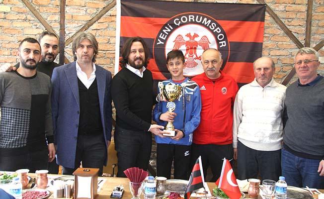 Şampiyonluk kupası Başkan'a
