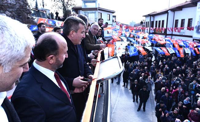 Asım Balcı'ya destek verdi