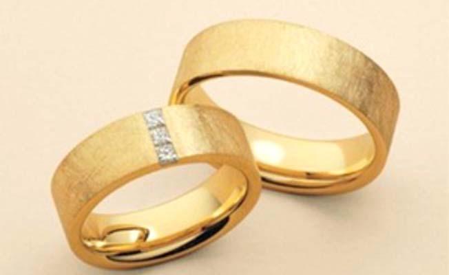Geçen yıl 3 bin 586 çift evlendi