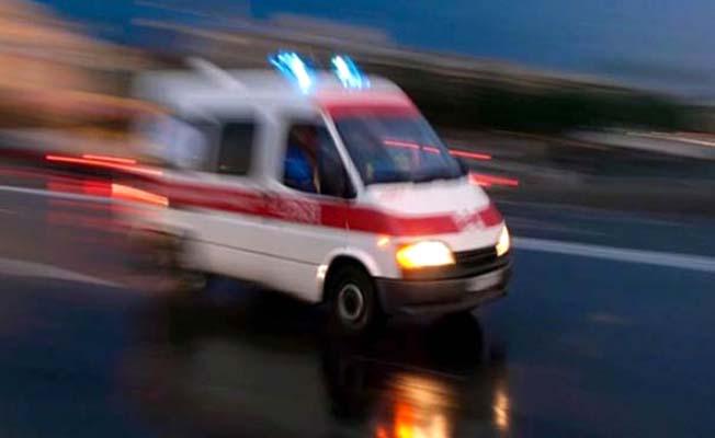 Kaydıraktan düşen çocuk yaralandı