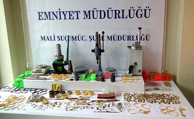 Sahte altın çetesine 43 tutuklama