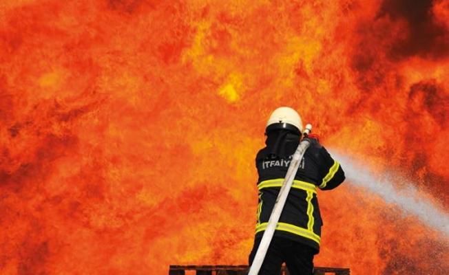 Sarmaşa'da yangın