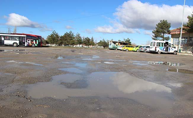 Yağış sonrası Terminal