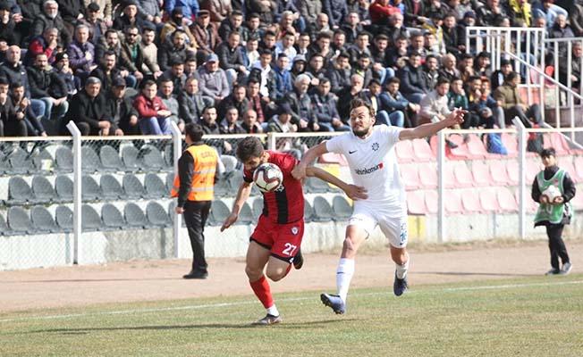 100 dakikalık maçın galibi Yeni Çorumspor