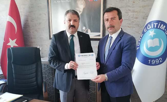Kamil Yiğit  Türk Emekli Sen İl Temsilcisi oldu