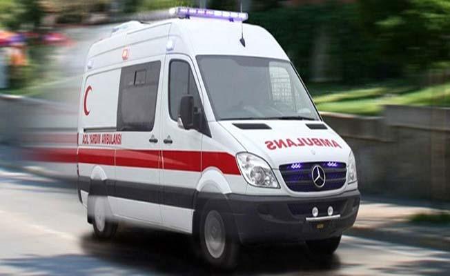 Polis otosuyla çarpıştı