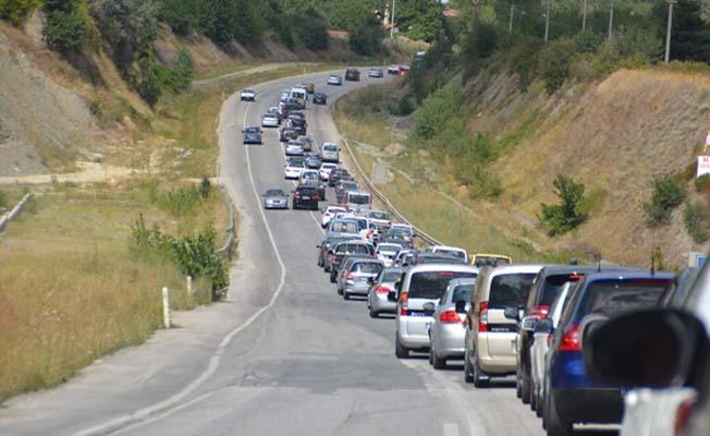Bayram trafiğinin en yoğun rotası