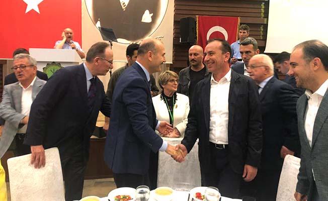 Ceylan, Bakan Soylu ile İstanbul'da