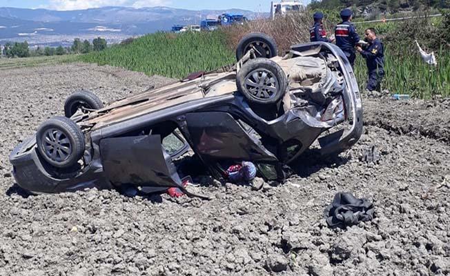 Kargı yolunda kaza, 1 ölü 3 yaralı