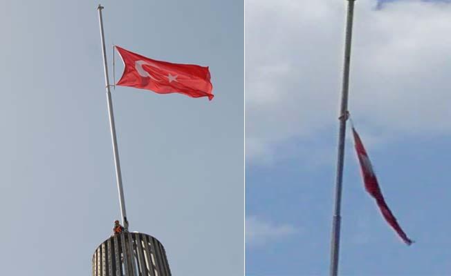 Türk Bayrağı yenilendi