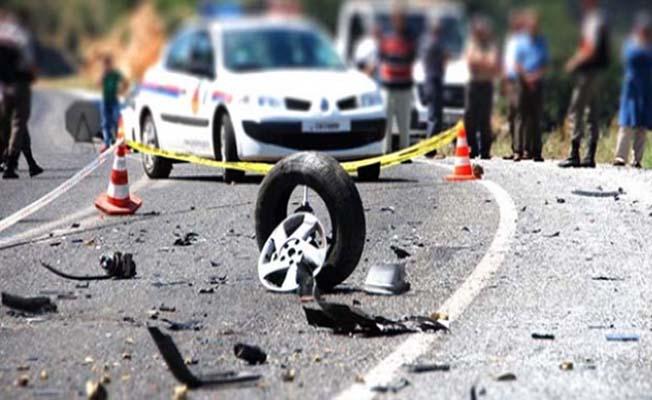 4 kaza, 7 yaralı