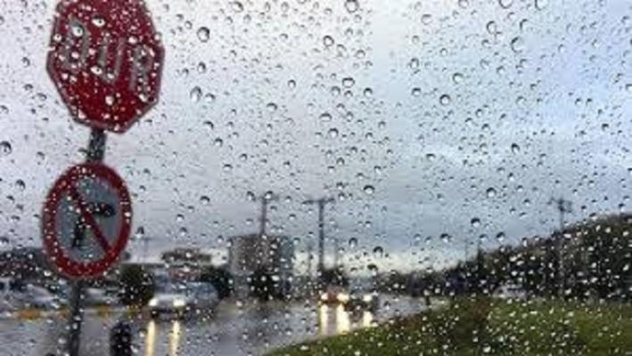 Bölgemize yağış uyarısı