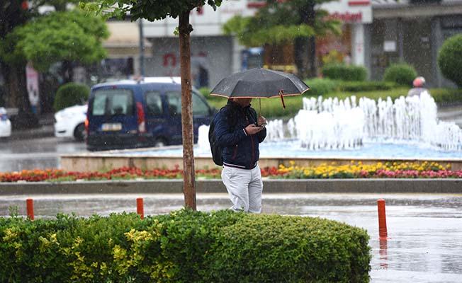 Bölgeye yağış uyarısı