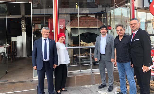 Çorum CHP de İstanbul'da
