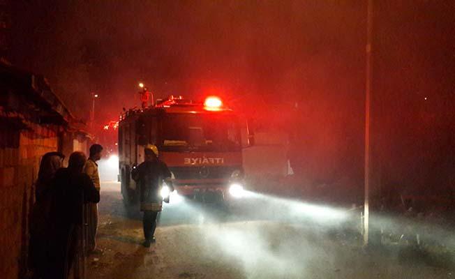 Gece yarısı yangın paniği