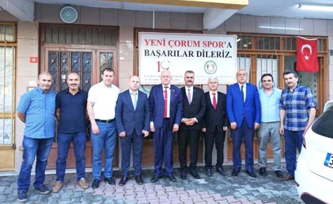 İstanbul'da Çorum'u konuştular