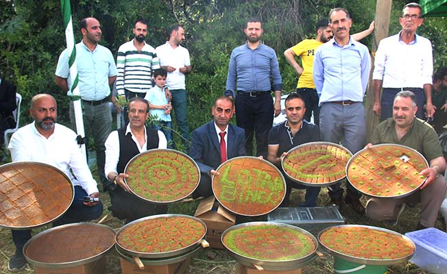 Kadayıf Festivali'ne Çorum'dan katılım