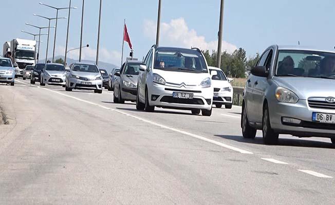 Kırıkkale-Samsun hattında yoğunluk