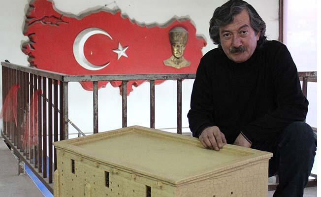 Minia Türk'ün maketleri Çorum'dan