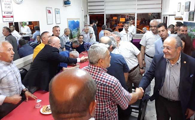 Salim Uslu da İstanbul'da