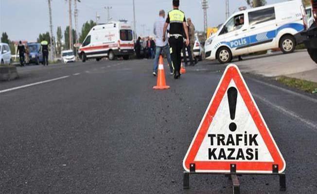 Alaca ve Kargı'da kaza, 3 yaralı