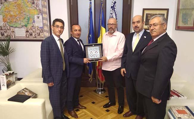 Başkan Ali Sülük Romanya'da