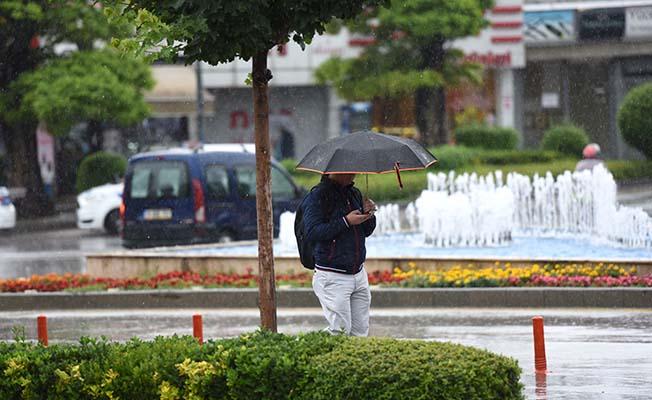 Bölge illere yağış uyarısı